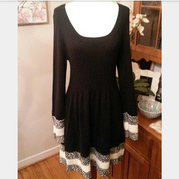 3e5bc6eac Dresses   Boho Sweater Dress Beautifully Embroidered   Poshmark